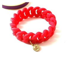 Marc by Marc Jacobs Red Rubber Bracelet * Excellent used condition * Beautiful Red chain link rubber stretch bracelet *Tiny gold turn lock detailed medallion   *Condition Score 8 of 10   ** Please feel free to   Share for share  Ask Questions   Make Offers   Like for future reference and price drop notifications    Buy With confidence that your package will be shipped with love and care Marc by Marc Jacobs Jewelry Bracelets