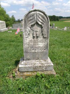 drapery Owl Creek Cemetery Mount Vernon, Ohio