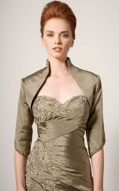 mother of the groom dresses lavender jacket   ... image of Rina di Montella Mother of the Bride Dress with Jacket RS1220