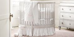 RH baby&child's Girl Nursery Collections:Shop baby cribs at Restoration Hardware Baby & Child.  All cribs convert to toddler beds and are JPMA-certified to comply with the most rigorous safety standards.