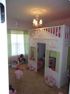 Good idea/illustration of how it would look in Gracie's room with size and window