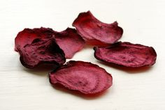 Raw Beet Chips