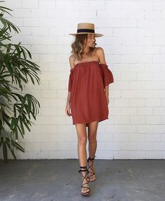 Our kinda' essentials  #SirTheLabel Clo Silk Dress $260 | #SarahJCurtis Elegance Hat & #éssTheLabel Bella Wrap Sandals | www.splicebou
