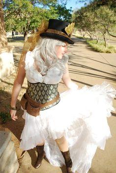 Sweet Steampunk costume