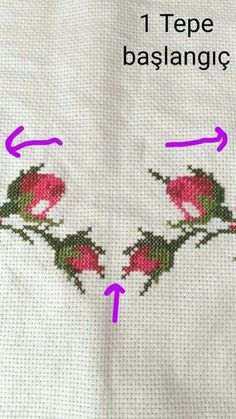 Discover thousands of images about İsim: Görüntüleme: 1661 Büyüklük: KB (Kilobyte) Cross Stitch Rose, Cross Stitch Flowers, Cross Stitch Designs, Cross Stitch Patterns, Cross Stitching, Cross Stitch Embroidery, Prayer Rug, Bargello, Baby Knitting Patterns