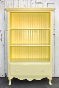 adorable and such a good idea. One of my favorite up-cycle ideas - Upcycled Furniture Ideas Refurbished Furniture, Furniture Diy, Upcycled Furniture, Repurposed Furniture, Bookcase With Drawers, Furniture Projects, Recycled Furniture, Redo Furniture, Refinishing Furniture
