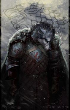 Robb Stark - Game of Thrones by Sevil-s on DeviantArt