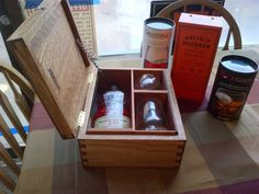 Whiskey Gift Box by LivengoodWood on Etsy, $280.00