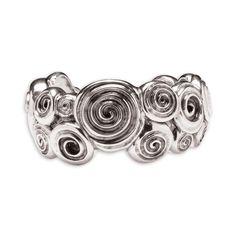 Ndoro Cuff Bangle - Patrick Mavros Silver Jewelry, Silver Rings, Jewelry Sets, Jewelry Design, Bangles, Wedding Rings, Bling, Pendants, Pure Products