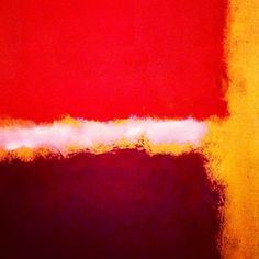 The colors on this #Rothko painting are stunning!