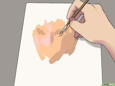 How to Create Realistic Flesh Tones. Creating a realistic skin tone is a handy skill for portrait artists and all aspiring painters. Over time, you'll develop your own mixes that will work for you. Mixing paint is an art in its own right. Portrait Male, Pencil Portrait, Painting & Drawing, Painting Tips, Skin Drawing, Realistic Rose, Realistic Drawings, Drawing Lessons, Art Lessons