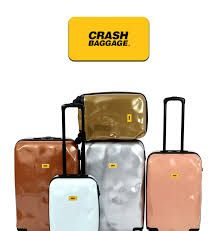 Image result for crash baggage silver