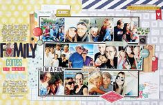 Family Comes In Many Forms by Kim Watson #SCTMagazine #scrapbooking #layout
