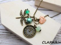 Kugelkette Bronze Libelle von CLARKIkind