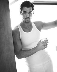 New HQ - David Gandy for SM Men's Fashion 2013 Photographer: Michael Schwartz David Gandy, Famous Male Models, Androgynous Models, Black Dagger Brotherhood, Hommes Sexy, British Men, Perfect Man, Beautiful Men, Gorgeous Guys