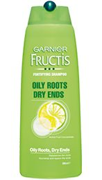 Fructis Oily Roots Dry Ends Fortifying Shampoo