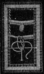 FIG. 699. BAR WITH LACE PICOT.
