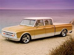 67 Chevy Crew!  GM never made this one.  It is a Suburban into a crew cab. Sweet!