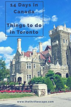 Things to do in Toronto. 2 weeks itinerary in Canada. Montreal, Quebec, Ottawa, Toronto and Niagara Falls. Must see tourist spots in Toronto. Ontario, Ottawa, Vancouver, Backpacking Canada, Stuff To Do, Things To Do, Alberta Travel, Canada Holiday, Canada Destinations