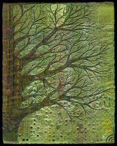 Encaustic Tree