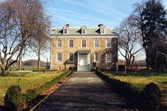 Van Cortlandt Mansion, Bronx, NY -  built in 1748 and is the oldest building in the Bronx.
