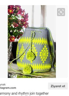 Tapestry Bag, Tapestry Crochet, Crochet Accessories, Bag Accessories, Tribal Patterns, Handmade Bags, Plastic Canvas, Country Girls, Lana