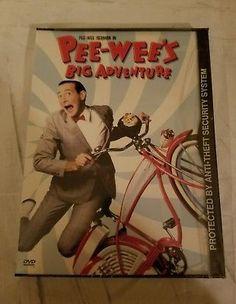 Pee-Wee's BIG Adventure (DVD) herman Paul Reubens pee wee Sealed New