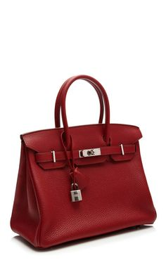 30Cm Hermes Rouge Garance Togo Leather Birkin by Heritage Auctions Special Collections for Preorder on Moda Operandi