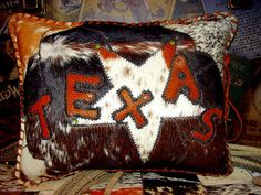 cowhide crazy texas u0026 star barbed wire leather by