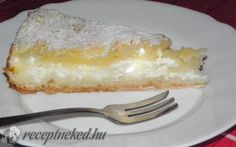 Lusta asszony túrós rétese recept fotóval Hungarian Cake, Hungarian Recipes, Hungarian Food, No Bake Desserts, Macaroni And Cheese, Biscuits, French Toast, Cheesecake, Deserts