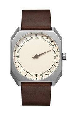 nice Jo 17 - Dark Brown Vintage Leather, Silver Case, Cream Dial - Swiss Made - For Sale Check more at http://shipperscentral.com/wp/product/jo-17-dark-brown-vintage-leather-silver-case-cream-dial-swiss-made-for-sale/