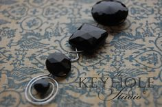 Items similar to Upcycled, Repurposed Antique Black Glass Vintage Buttons & Forged Steel Necklace - Perfect Woman's Gift on Etsy Diy Art Projects, Forged Steel, Perfect Woman, Vintage Buttons, Black Glass, Gifts For Women, Repurposed, Upcycle, Recycling