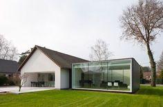 'framework house' by cocoon architecten, Genk, Belgium