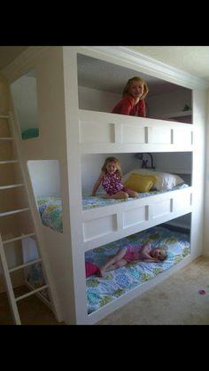 Triple bunk?
