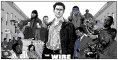 The Wire The Wire Tv Show, The Wire Hbo, Hbo Tv Shows, Great Tv Shows, Breaking Bad, Baltimore, Tv Themes, Tv Reviews, Tough Guy