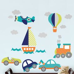 Found it at Wayfair - Wall Art Kit on The Go 19 Piece Wall Decal Set