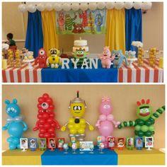 Yo Gabba Themed Birthday Party Http Www Christinasevent