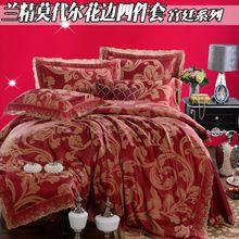 Плотность king queen 100% тенсель кровать комплект стеганое пуховое крышка лист роскошь супер мягкая обработанная вискоза постельные принадлежности комплект(China (Mainland))