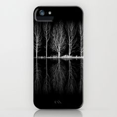 Echo in the Trees B iPhone Case by Ally Coxon - $35.00