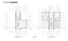 Primer Lugar en concurso de diseño de vivienda social sustentable en la Patagonia / Aysén, Chile,Planta base