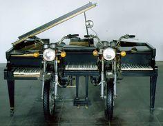 """Arman. """"Spirit of Yamaha"""", 1997."""
