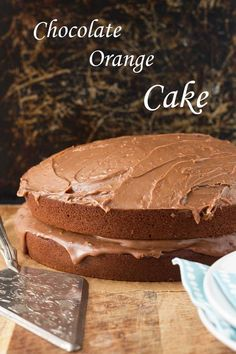 A light, rich and moist chocolate cake with a delicious creamy orange flavoured ganache ... basically a really good chocolate cake!