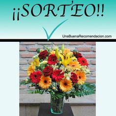 Sorteo Ramo de Flores a Domicilio  http://www.unabuenarecomendacion.com/index.php/sorteos/5294-sorteamos-un-precioso-ramo-de-flores