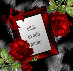 rose frame. Share your love by adding a photo and posting.