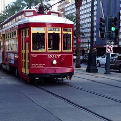 New Orleans Streetcar passing by...  - @Jeffrey P