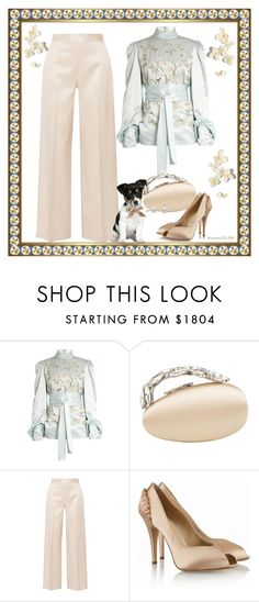 """""""Princess Adventure ~ Hong Kong"""" by houston555-396 ❤ liked on Polyvore featuring Hillier Bartley, Manolo Blahnik and The Row"""