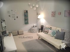 teen hangout room Mallory Mathison Inc Love This Look