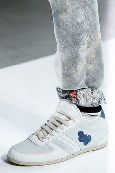 Bottega Veneta S/S 2013 men sneakers with butterfly detail