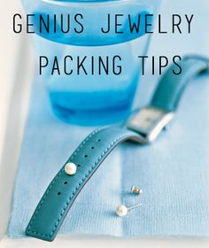 The P.J. Salvage team loves to accessorize! So we had to share these awesome tips for packing jewelry! #packit