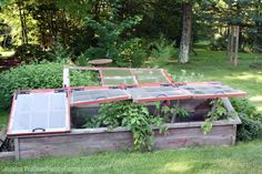 Already mourning the decline of your summer garden? With this easy-to-construct cold frame, you'll have fresh greens all winter.